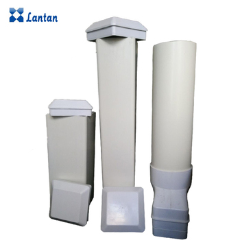 Manufacturers Selling White PVC Plastic Square Pipe For Hydroponic System