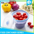 Small size FDA grade silicone baby food freezer container
