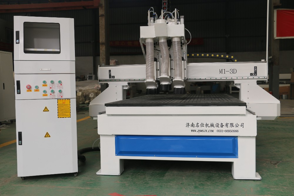 4x8 ft cylinder ATC cnc router machine for door cabinet