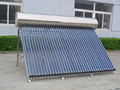 Aluminum Alloy Type Pre-heated Tube Hot Sale Solar Water System