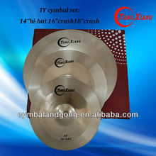 B20 cymbal with fast response cymbal from China cymbal factory