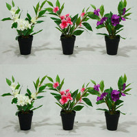 Artificial Garden Balsam Bush High Quality Fake Wedding Flowers For Decoration