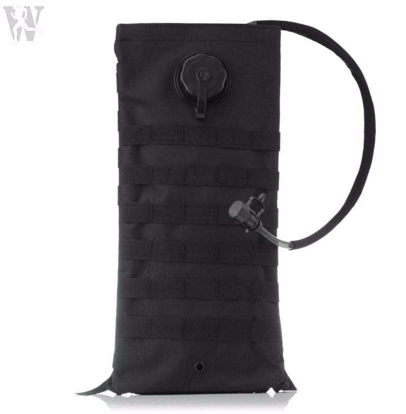 Quality Black Molle Nylon Pouch Camel Water Bag Manufacturers