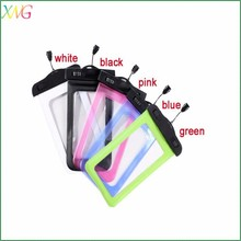Hot selling summer universal PVC waterproof cell phone bag for swimming diving