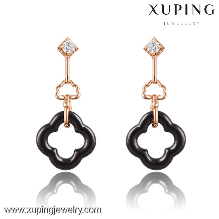 2016 Women new style fashion stud white drop earrings, ceramic earring
