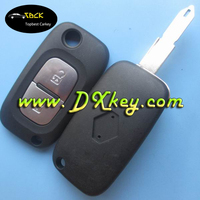 Shock price flip car key replacement with 2 buttons with 206 blade for renault key renault key cover