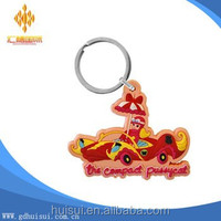 wholesale custom I love hockey keyring