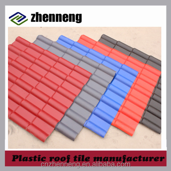 Factory Directly interlocking roof tile synthetic resin roof tile China