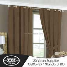 3 Pass thermal Blackout, Solid Color Curtains,Fireproof Curtain