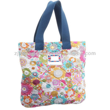Lady's cotton quilting fabric bag