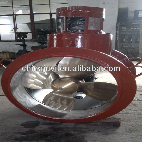 60KW 4 Blade Hydraulic Marine Bow Thruster With Nozzle