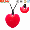 china wholesale food grade amber baby chew teething necklace silicone pendant