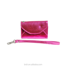 Shiny Pink Most Famous PU Women Magic Wallet