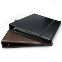Handmade Brand Large PU Leather Universal Loose-leaf Coin album Units More durable Coin holder Protect paper money stam Coins