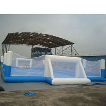 inflatable water adult football filed games