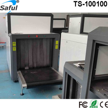 Airport public place security equipment X Ray Baggage Scanner With Tunnel Size of 1000mm x 1000mm
