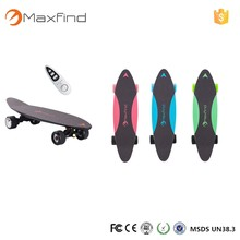New Arrivial MaxFind Electric Skate 500W 20KM distance cheap electric skateboard boosted