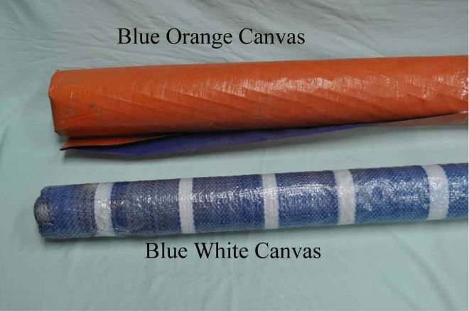 Tarpaulin Canvas PVC
