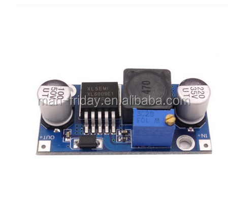 XL6009 DC-DC Adjustable Step Up Boost Power Converter Module With Input Voltage DC6-45V (Adjustable)