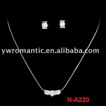 fashion silver set jewelry