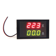 High Quality Digital LED Voltage Meter Ammeter Voltmeter with Current Transformer AC80-300V 0-100.0A Electrical Instruments