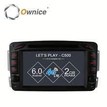 Ownice C500 Octa core android 6.0 For Mercedes Benz W209 Car DVD built in RDS multimedia USB BT Wifi