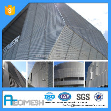 High Quality Sun Screening Car Park Enclosures Expanded Metal Mesh For Supply