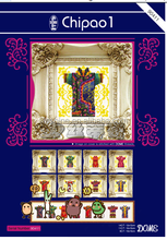''A very beautiful cheongsam'' dome cross stitch, cross stitch kit, DIY embroidery kit, 40% discount for you