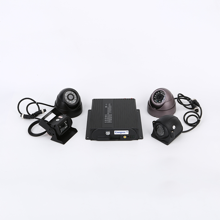 Hot new products 720p ahd mobile bus dvr 4 channel sd card car