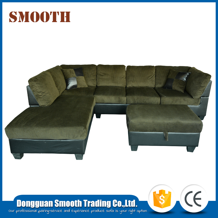 Simple design luxury high end living room comfortable sofa