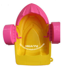 Hot sale kids hand aqua water plastic pedal paddle handle boats /Amusement BIKIDI Kids & Adults Aqua Hand Paddle Boat Pedal Boat