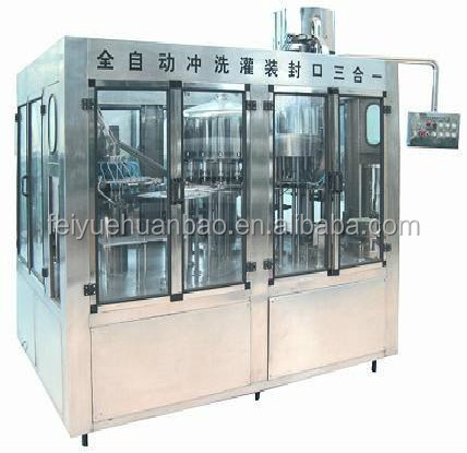 2500-3000 bottles/hour 550ml plastic water bottle soda water maker mineral water production line