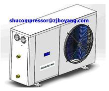 Boyard air cooling outdoor condensing unit for oil/water chiller water cooler daliy water chiller