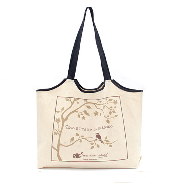 Eco-friendly cotton cloth bag for gift and shopping china supply