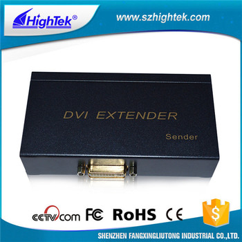 HighTek HK-DE60 25~165MHz 60M rj45 ethernet DVI extender