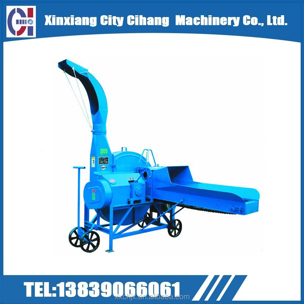Easy operation agriculture farm corn silage chaff cutter