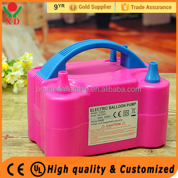 Factory price mini electric balloon pump Mini Balloon Inflator For Party