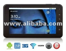DPAD 4 Tablet,7 inch,Android 2.3, Wifi, Camera, CPU 1.2Ghz, 4GB, Call, SMS, 3G, GPS, Bluetooth