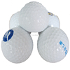 2017 spring new model white one piece practice golf ball