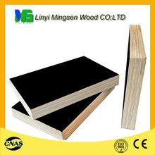 brown/black film faced shuttering plywood from China factory