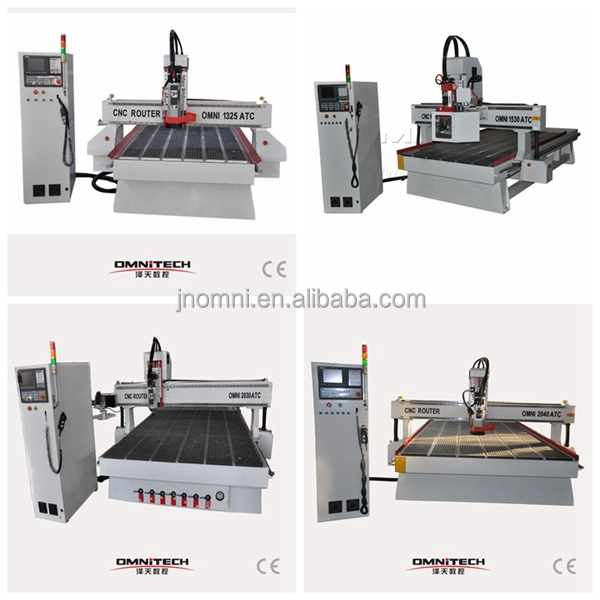 8 knives ATC CNC router, Automatic Tools Changing CNC router, MDF working machine