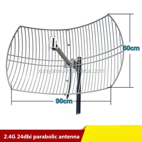 High quality Outdoor Directional 2.4G Wireless antenna parabolic Grid 23dbi gain