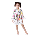 China Design One Piece Little Girls Latest Party Dress