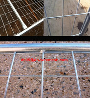 temporary galvanized australia dog kennel fence panel (China manufacturer/welded mesh)