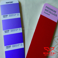 Advanced metallic color card GG1505