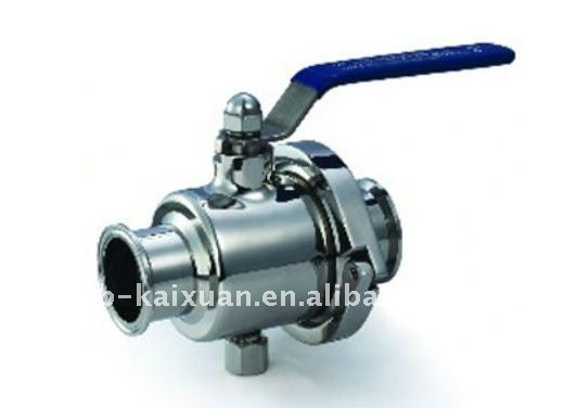 three piece modle hoop ball valve