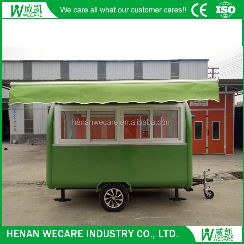 280 Motor Tricycle Mobile Food Cart Trailer for Sale