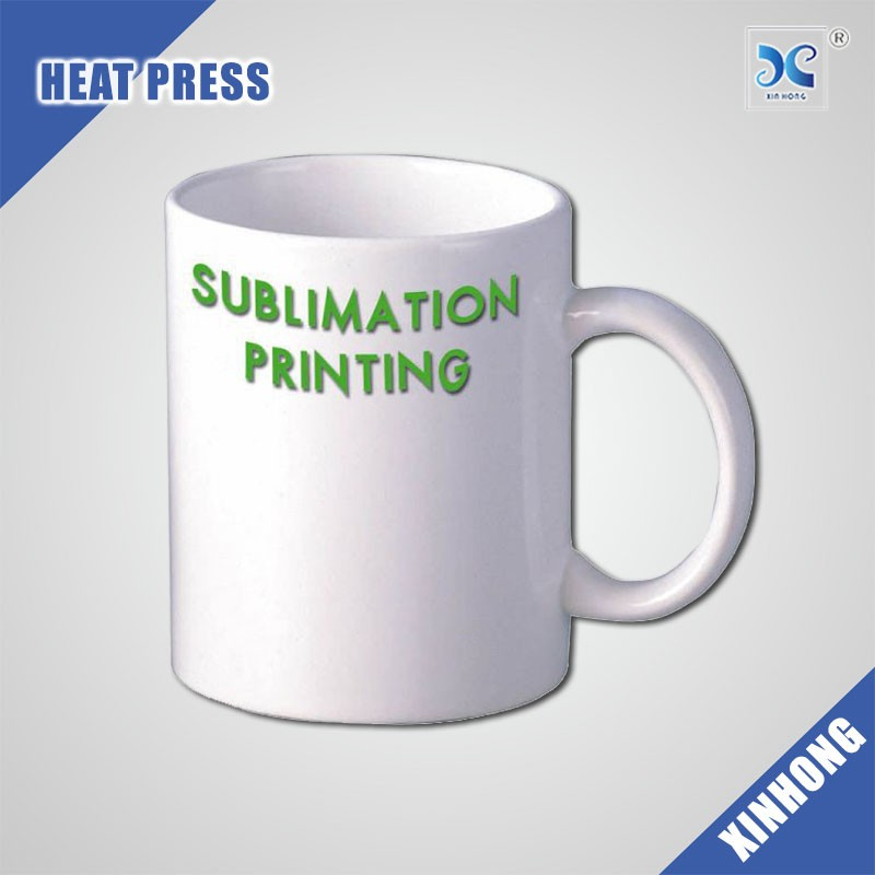 China Supply Low Price Easy To Custom Logo White Sublimation Mug Cup