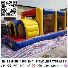 Kids Outdoors Party Jumpoline Playground Inflatable Obstacles Jumping Combo Slide Bouncer For Sale