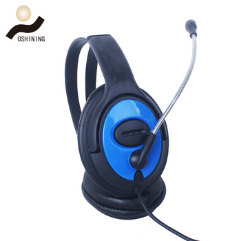 Shenzhen Headphone Good Looking Wired Stereo Mic Headphone Manufacture